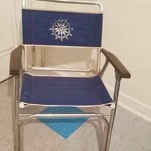 (2) Vintage Beach Folding Chairs